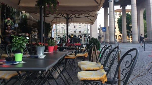 Le Trottoir a la Darsena, Milan