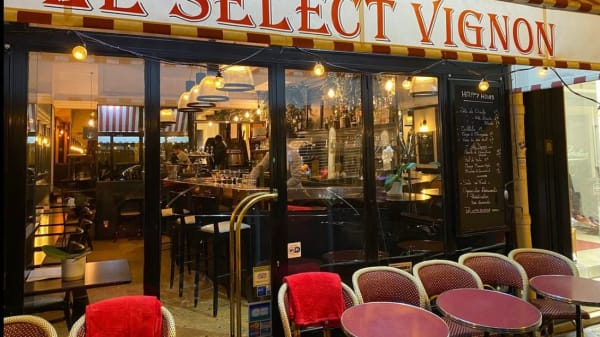 Le select vignon, Paris