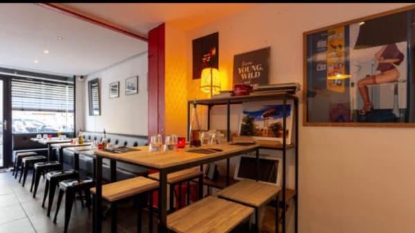 Guscio Pizza, Paris