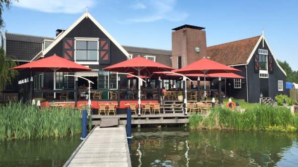 Terras - Paviljoen Smit-Bokkum, Volendam