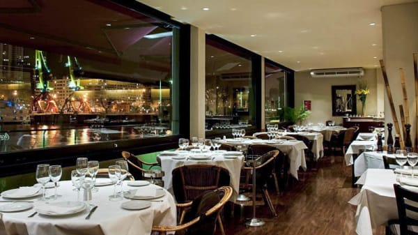 Vista de la sala - Marcelo Restaurante (Puerto Madero), CABA