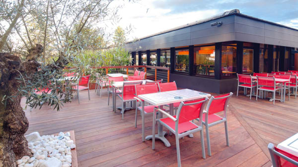 La terrasse - Les Jardins Du Cens, Saint-Herblain