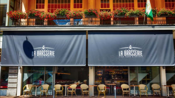 Terrasse - La Brasserie J5, Montreux