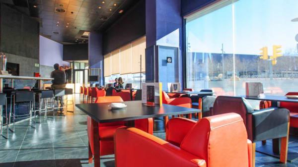 Vista de la sala - The Corner Bar - Hotel Barcelona Princess, Barcelona