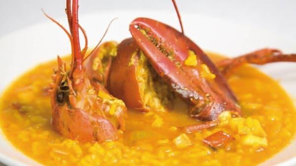 Sugerencia del chef - El Verdejo, Salobreña