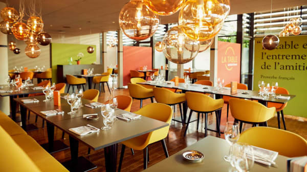 La salle - La Table de Michel Dussau, Agen