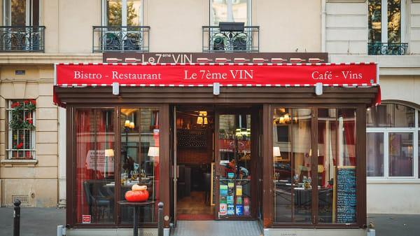 Façade - 7éme Vin, Paris