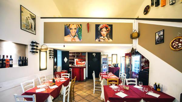 Vista sala - Trattoria a Chiaia, Napoli