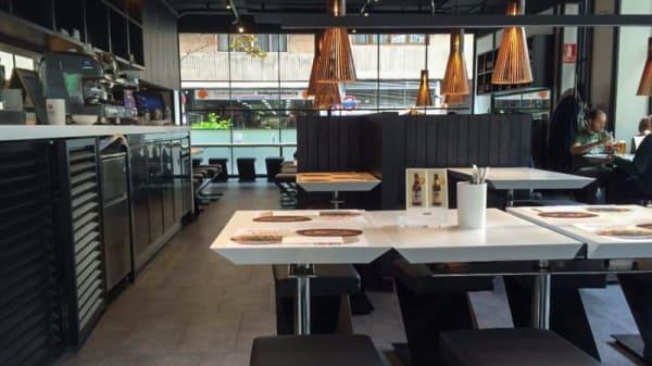 Sala del restaurante - Udon Zaragoza, Zaragoza
