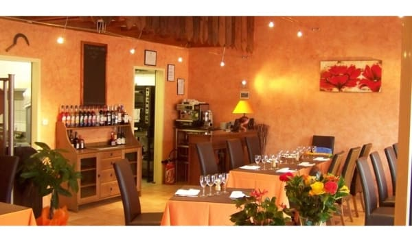 Salle du restaurant - Au Comptoir de Damien, Lusigny
