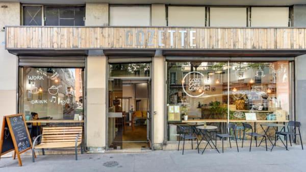 Entrée - Cozette, Paris