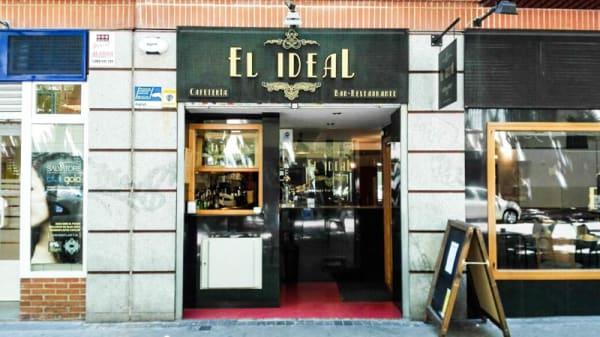 La entrada - El Ideal, Madrid
