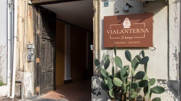 Entrata - Vialanterna - Il Borgo, Messina