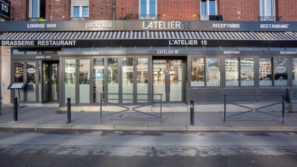 Entrée - L'Atelier 15, Saint-Ouen