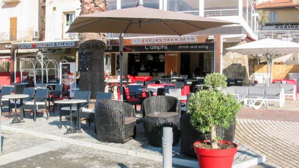 Entrée - L'Amphi, Calvi