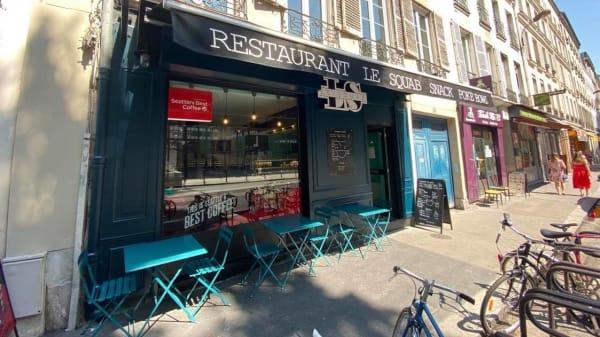 Terrasse - Le Squab, Paris