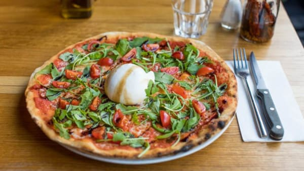 Suggestion de pizza - Marguerite, Clichy