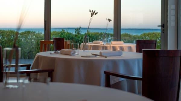 Vue de la salle - Hôtel - Restaurant Anne De Bretagne, La Plaine-sur-Mer