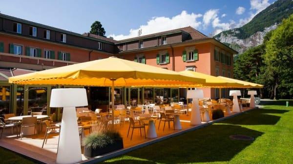 Terrasse - La Table des Bains - Lavey, Lavey-Morcles