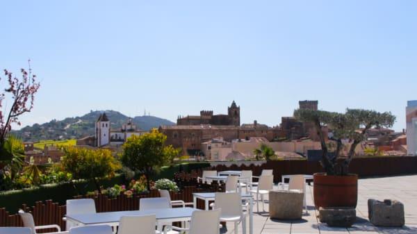 Terraza - El Mirador de Galarza, Cáceres