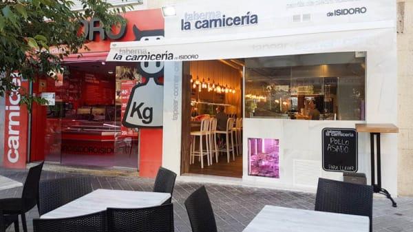 Entrada - Taberna La Carnicería, Madrid
