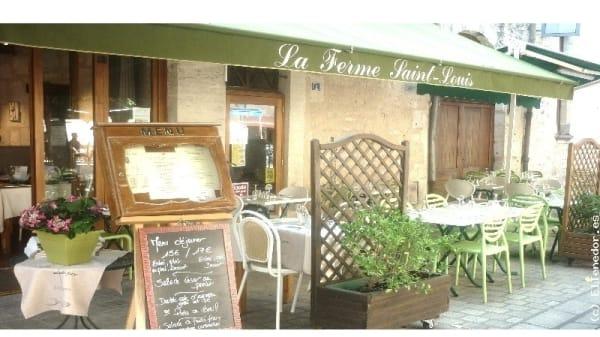 Façade du restaurant - La Ferme Saint-Louis, Périgueux