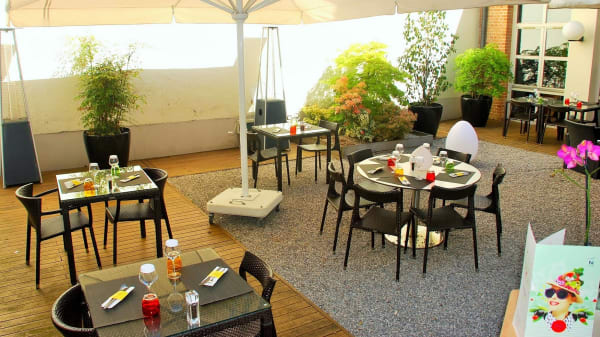 terrasse - Novotel Café, Lille