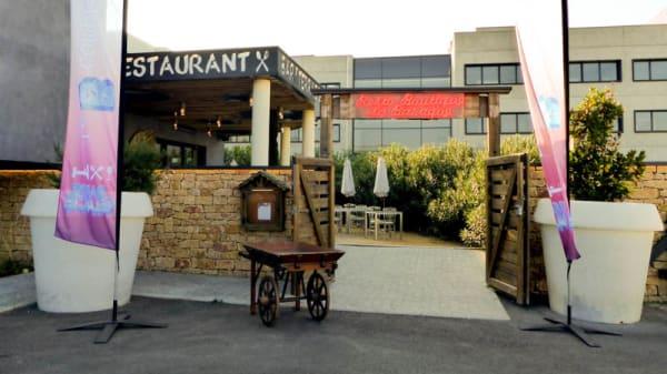 Devanture - Restaurant Le B Complexe, Lozanne