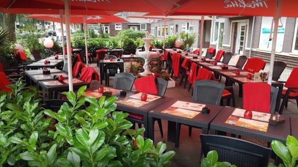 Dekorationsdetail - Cabana Steak House, Hamburg
