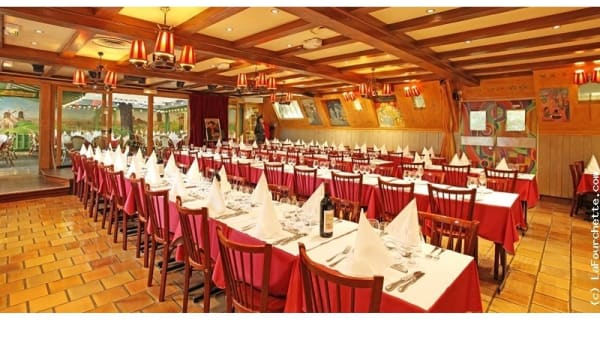 Vue de la salle du restaurant - La Bonne Franquette, Paris