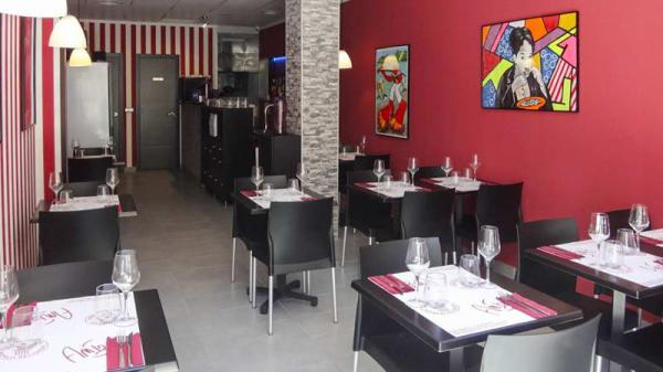 Vista sala - La Pasta, Fuengirola