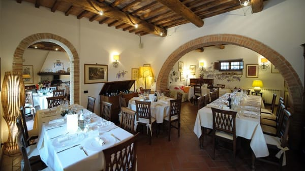 "Interno - Antico Borgo San Lorenzo Relais - Ristorante ""Casa Bandini"", Poggibonsi"