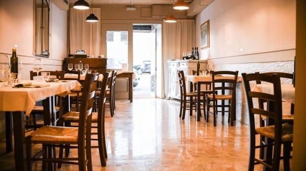 Sala con distanziamento  - Osteria Pratellino, Firenze