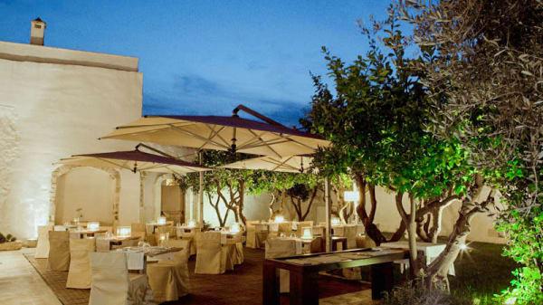 terrazza esterna - Cielo Restaurant - Relais La Sommita, Ostuni