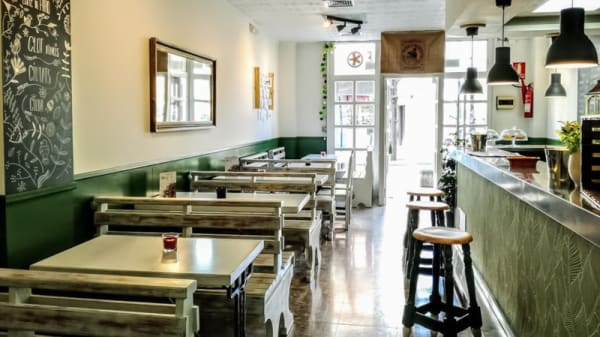 Sala del restaurante - Oli i Sal, Molins De Rei