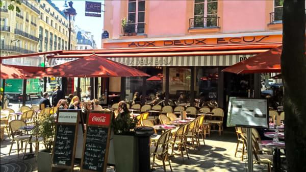 Aperçu de l'extérieur - Aux 2 Écus, Paris