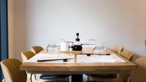 Table dressée - Délice de Condorcet, Paris