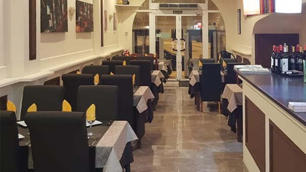 Vista sala - Ashoka Indian Reastaurant, Orihuela