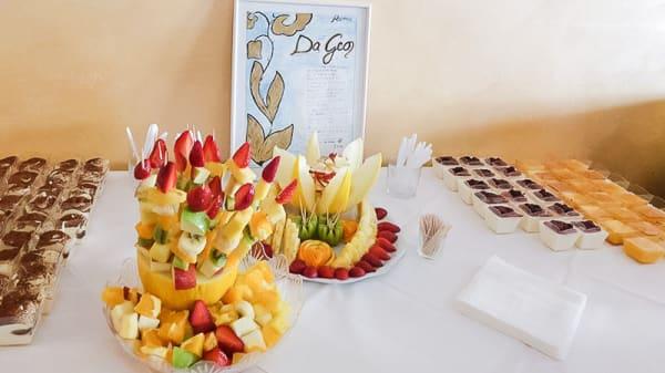 Frutta e dolci - Da Geo, Rome