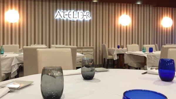 Vista mesa - Atelier, Valdemoro