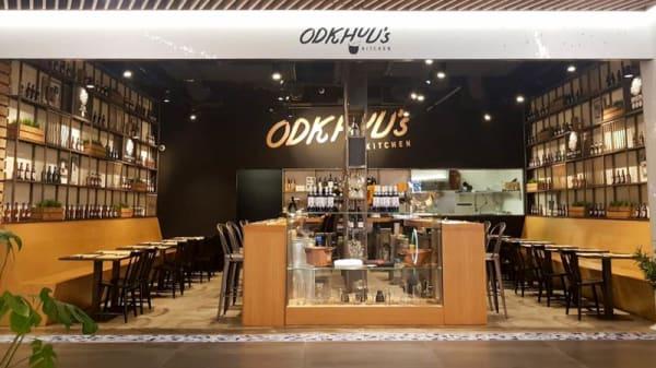 Restaurante - Odkuu's Kitchen, Barcelona