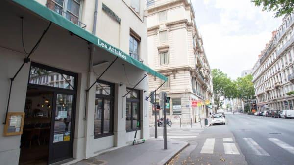 Entrée - Les Attablés, Lyon