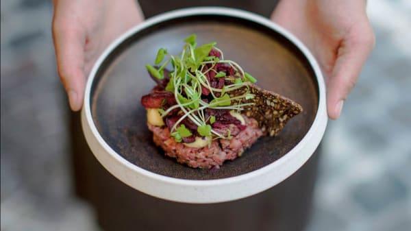 Föreslagen rätt - Restaurant Maven, København