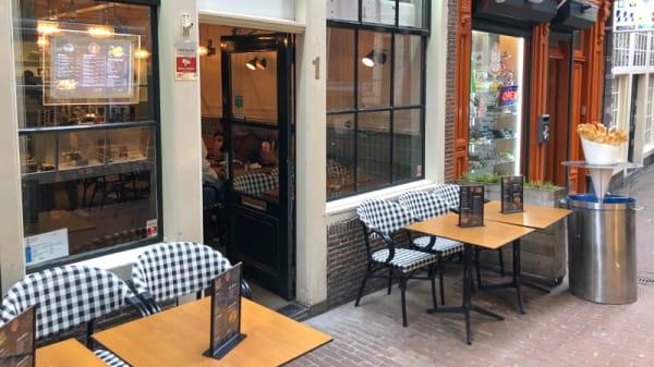 Terras - Angus Burger Bar, Amsterdam