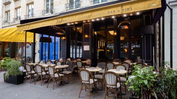 Terrasse - Ecluse Saint Honoré, Paris