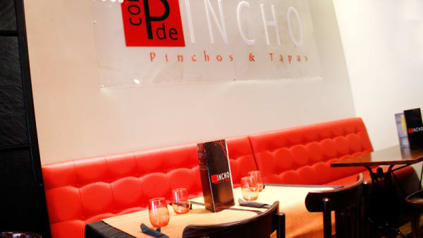 Detalle mesa - Con P de pincho, Madrid