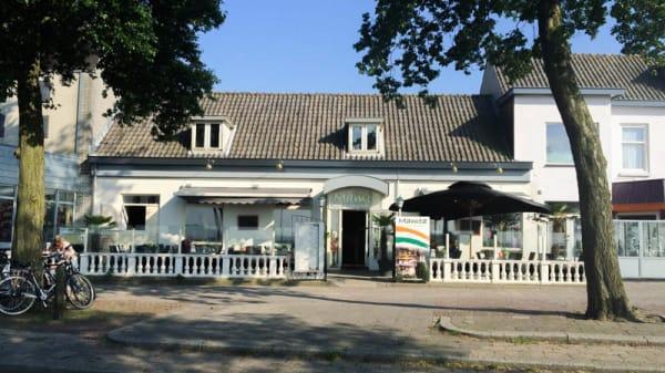Ingang - Mamta Indiaas tandoori restaurant, Harderwijk