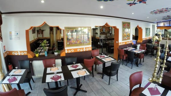 Vue de la salle - Bollywoodcafe, Pau