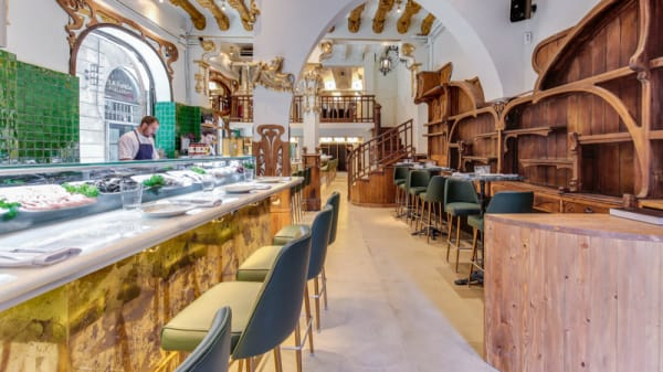Interior - Grill Room - Bar Thonet, Barcelona