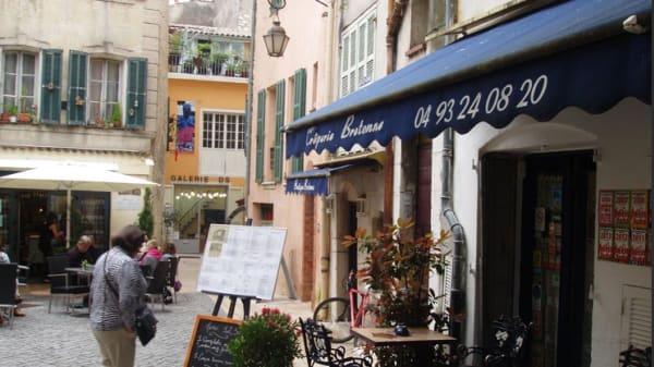 Devanture - Crêperie Bretonne, Vence